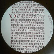 印刷博物館のコースター