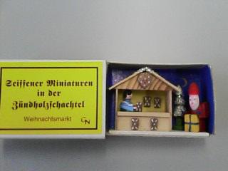 クリスマスのマッチ箱